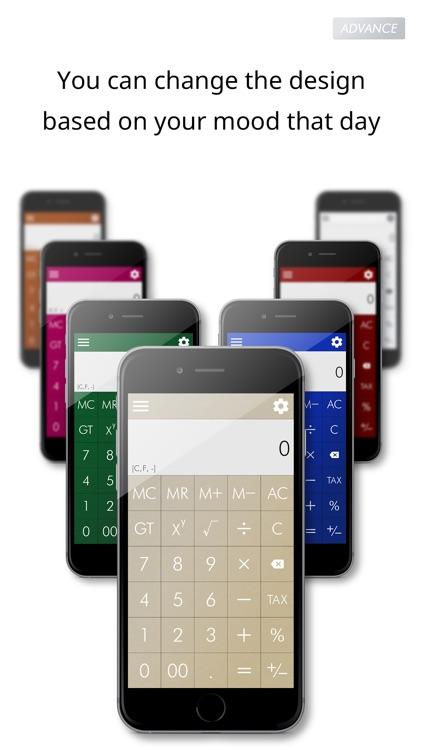 Calculator Advance screenshot-4