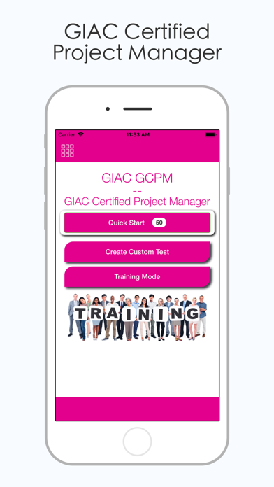 Screenshot #1 pour GIAC GCPM Test Prep