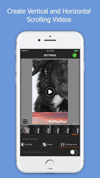 PicPlayPost Movie Video Editor screenshot-6