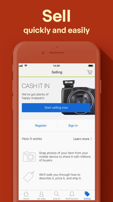 download Buy, sell, and save with eBay apps 0