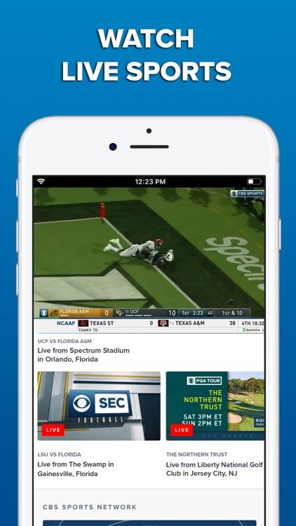 CBS Sports App Scores & News screenshot-6