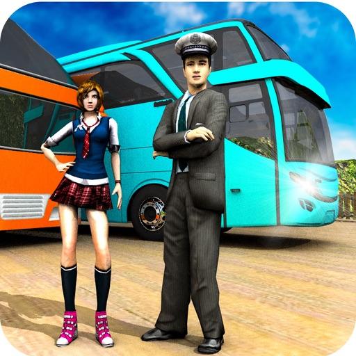 Offroad coach bus simulator