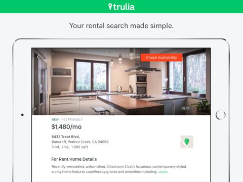 Trulia Rentals - náhled