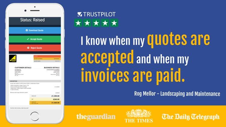 Powered Now: Invoice & Quote
