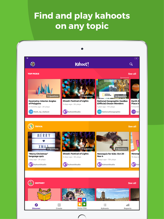 Kahoot! Play & Create Quizzes Screenshot 3