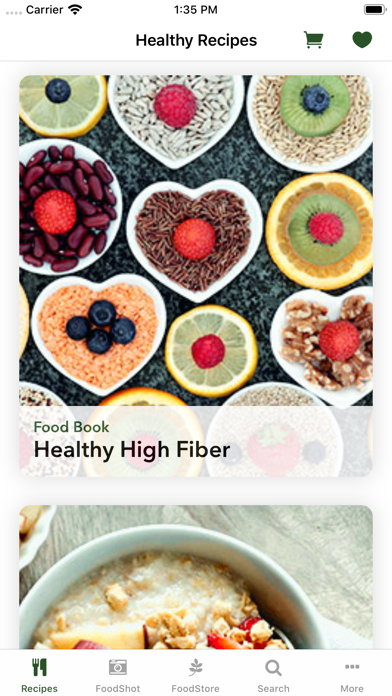Healthy Recipe Book : FitMe ScreenShot3