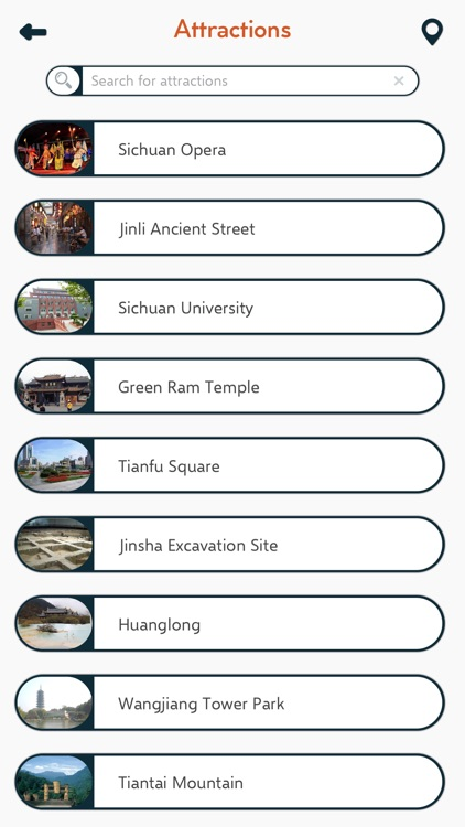 Chengdu City Travel Guide screenshot-2