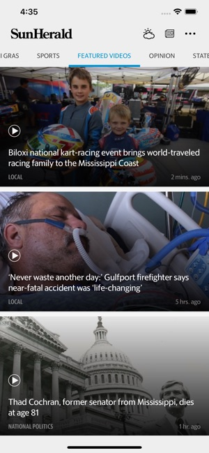 Biloxi Sun Herald News on the App Store