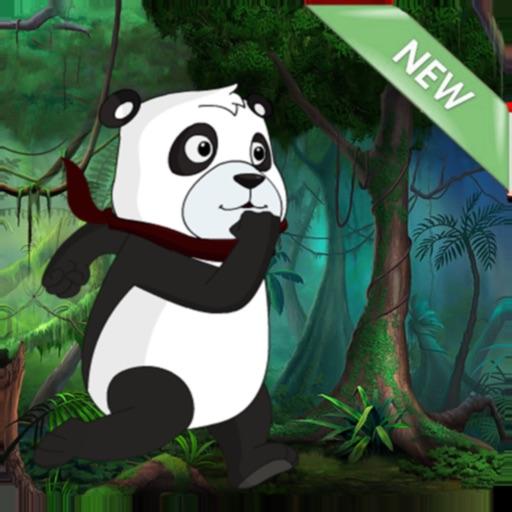 Panda Ninja Run in Jungle