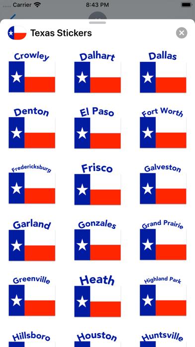 Texas Stickers screenshot 7