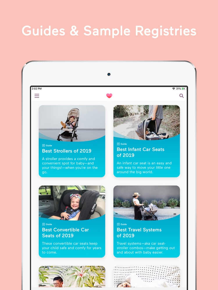 Babylist Baby Registry App for iPhone - Free Download ...