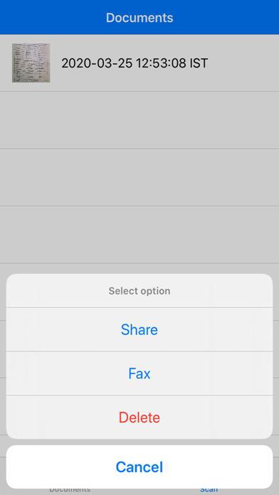Scanner & fax Screenshots