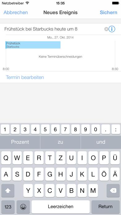 miCal - der KalenderScreenshot von 5