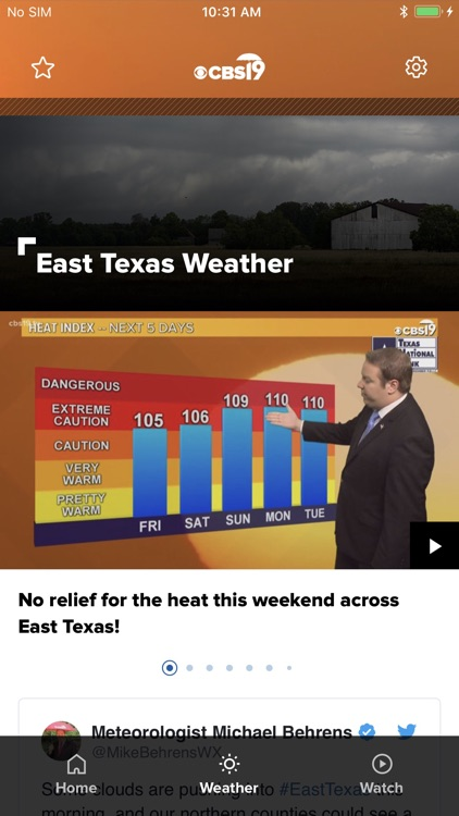 Tyler News from CBS19 screenshot-1