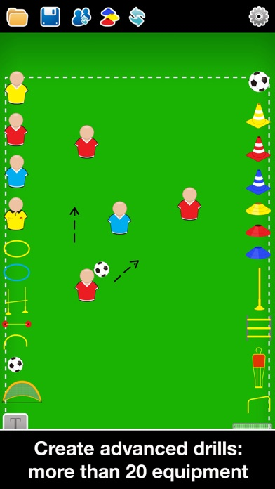 Screenshot for Coach Tactic Board: Football++ in Egypt App Store