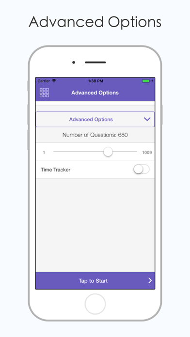 Screenshot of ASE L2 Test Prep App