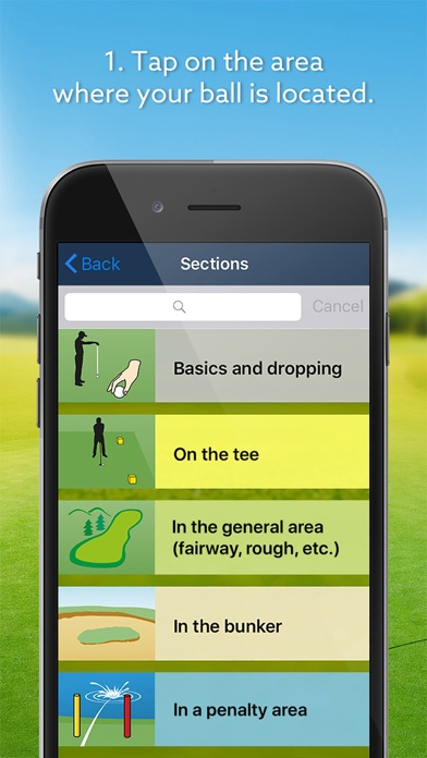 Screenshot for Expert Golf – iGolfrules 2019 in United Arab Emirates App Store