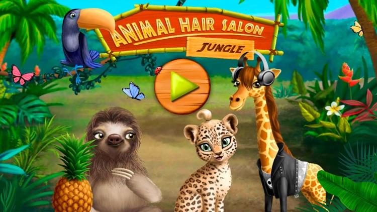 Jungle Animal Hair Salon! screenshot-7
