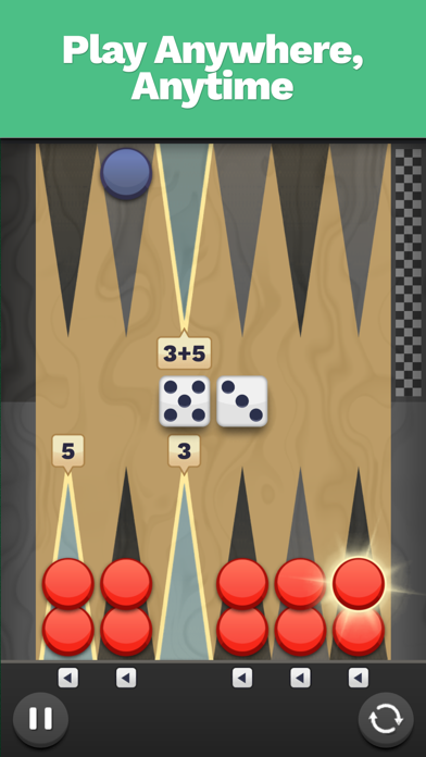 Backgammon Blitz screenshot 2