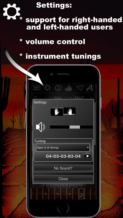 Banjo Chords Compass screenshot-4