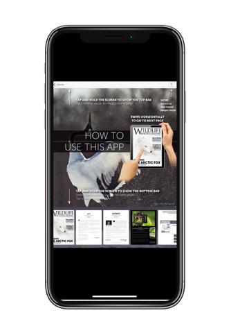 Screenshot of Wildlife Photographic Magazine