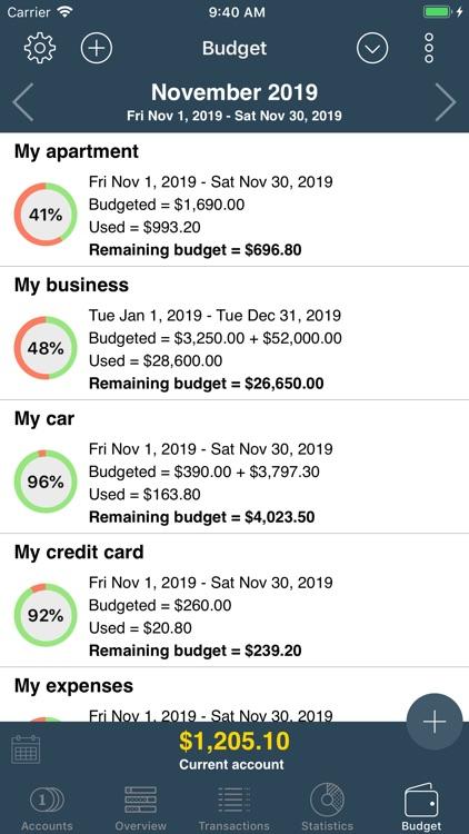 My Budget Book screenshot-8