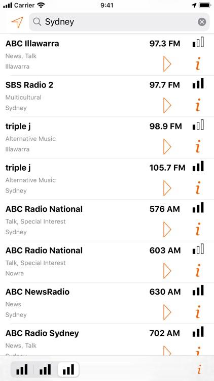 Radio Guide Australia Lite screenshot-4