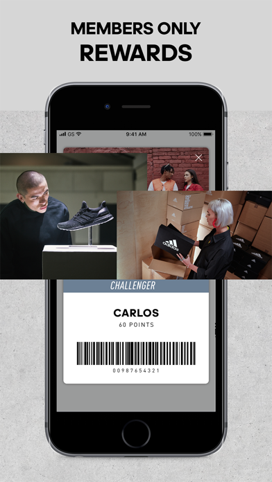 Screenshot for adidas in United States App Store