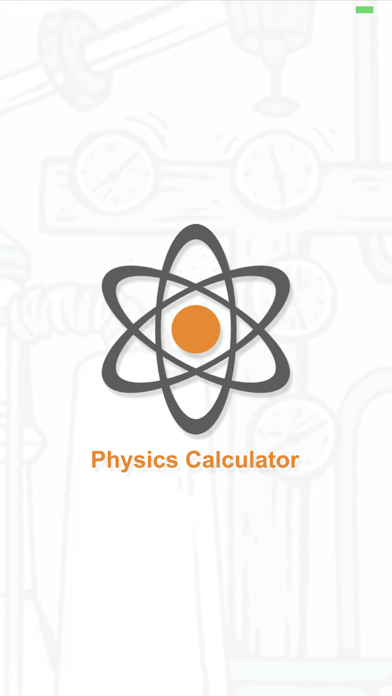 Physics study calc screenshot 1