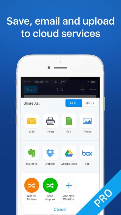 Scanner Mini – Scan PDF & Fax screenshot-3