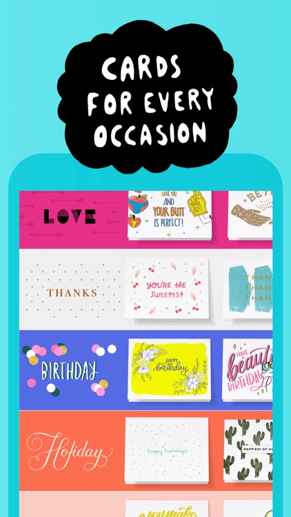 Punkpost Greeting Cards