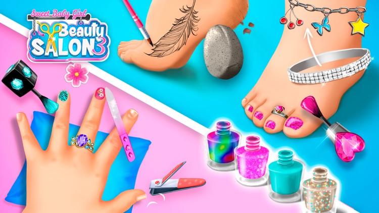 Sweet Baby Girl Beauty Salon 3 screenshot-4