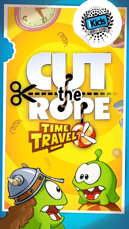 Cut the Rope: Time Travel GOLD screenshot-0