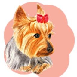 Cute Yorkie YorkieMoji Sticker