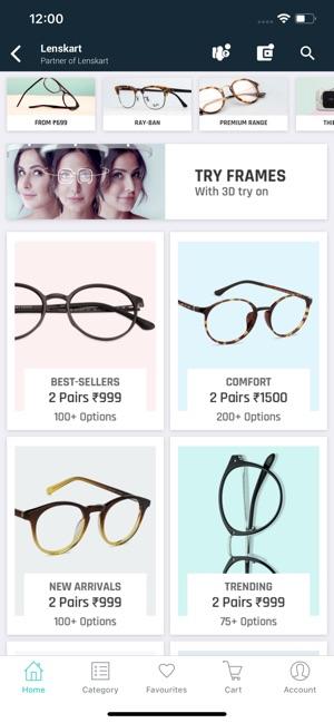5699e2438d2a Lenskart: Eyewear Shopping App on the App Store