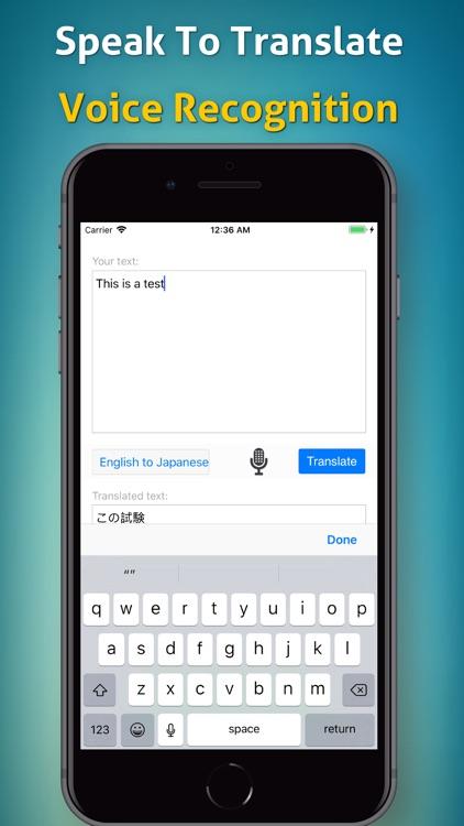 English Japanese Translator!