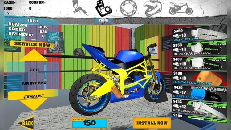 Stunt Bike Freestyle screenshot-4