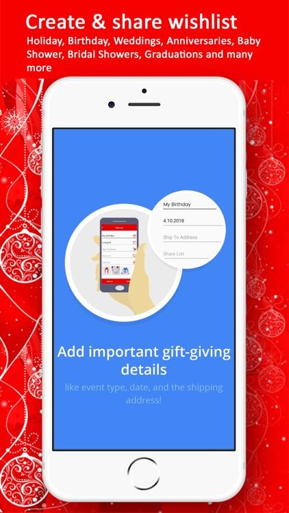 GettaGift Wishlist Gifting app screenshot-5