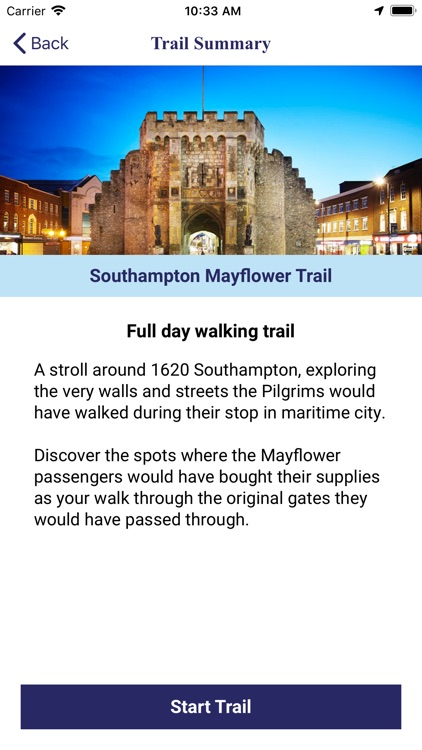 Mayflower Self-Guided Tours
