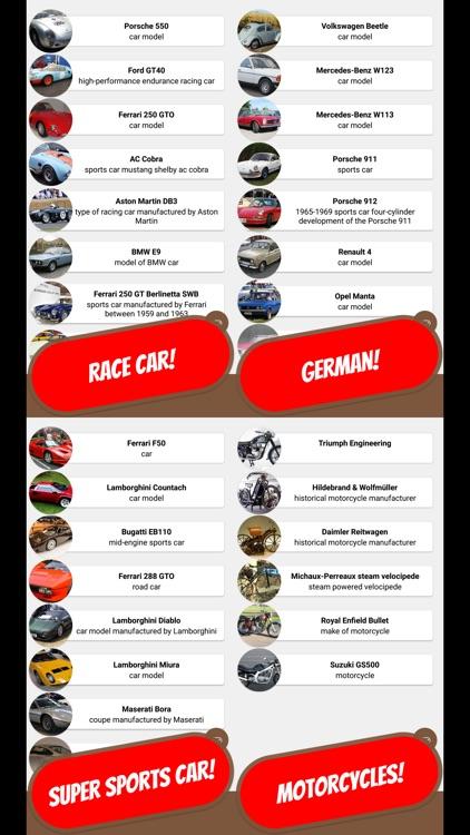CLASSIC CAR & RETRO Quiz screenshot-3