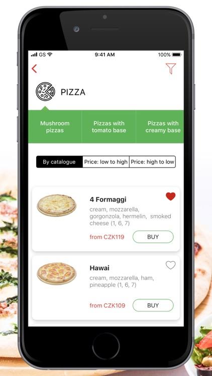 Caruso pizza - delivery Brno
