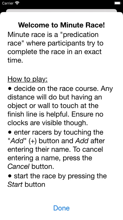 Minute Race screenshot-3