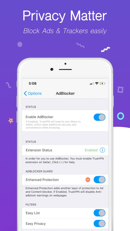 TrueVPN - Best VPN & AdBlocker screenshot-4