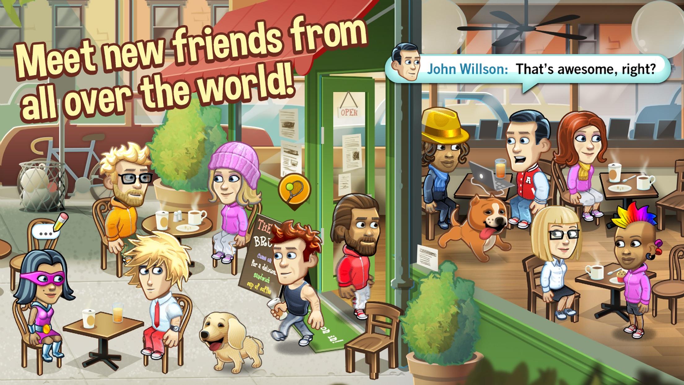 Friendbase - Chat Create Play Screenshot