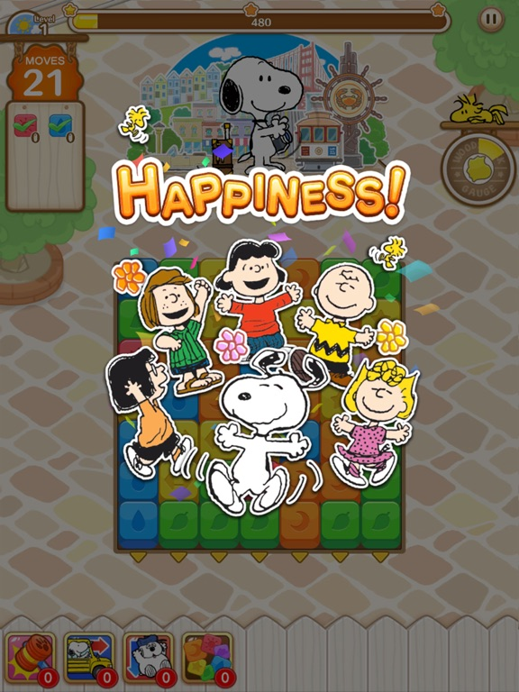 SNOOPY Puzzle Journey screenshot 6