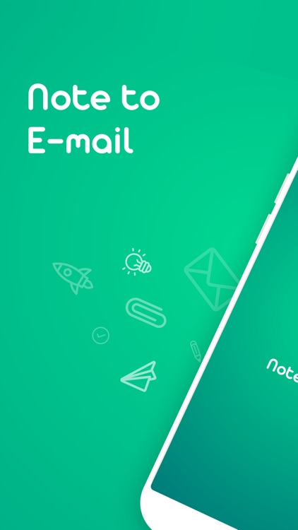 Note To Email: Fast Mail Notes