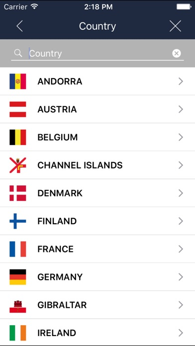 Screenshot for BringGo Western Europe in United Kingdom App Store