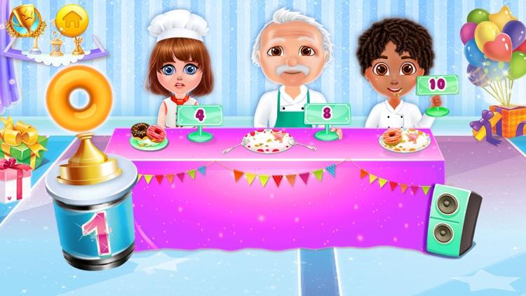 Donut Baking & Cooking Game screenshot-4