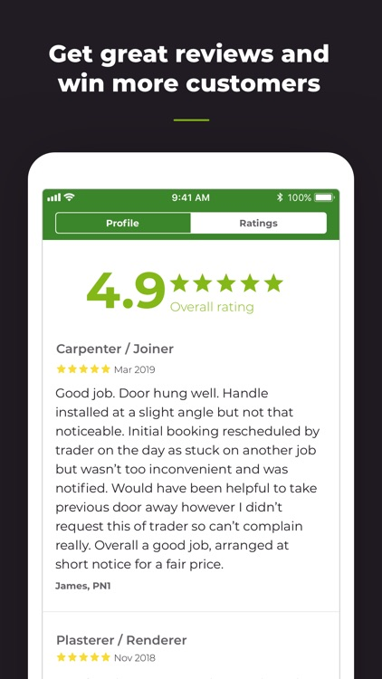Rated People - Find Job Leads screenshot-5