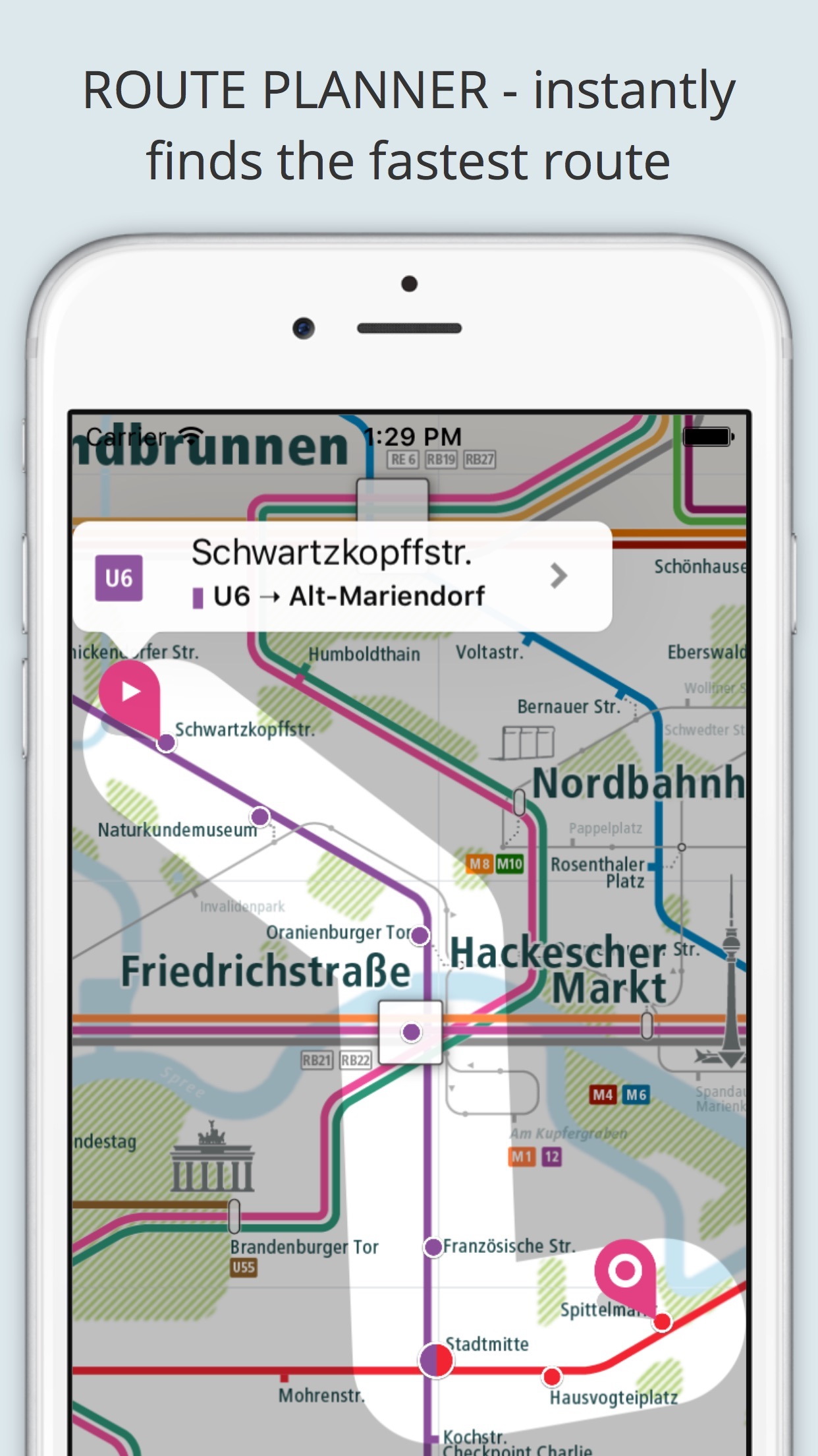 Screenshot do app City Rail Map - Travel Offline